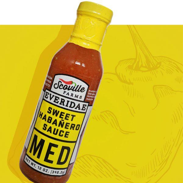 Medium Everidae Sauce (Sweet Habanero Sauce)